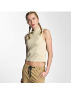 Urban Classics Ladies Turtleneck Short Tank Top Sand