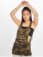 Urban Classics Tank Tops Ladies Camo Loose camuflaje