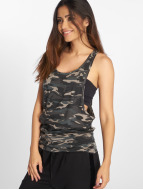 Urban Classics Tank Tops Ladies Camo Loose grå