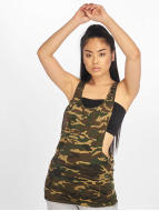 Urban Classics Tank Tops Ladies Camo Loose mimetico