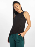 Urban Classics Top Ladies HiLo Viscose noir