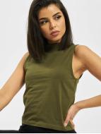 Urban Classics top Ladies Turtleneck olijfgroen