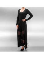 Urban Classics top Ladies X-Long Front Slit zwart