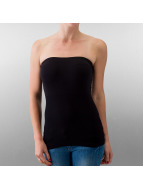 Urban Classics Tops sans manche Ladies Home noir