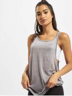 Urban Classics Tops Ladies Loose Burnout grigio
