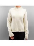 Urban Classics trui Ladies Chenille Turtleneck beige