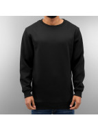 Urban Classics trui Side-Zip Neopren zwart