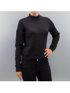 Urban Classics trui Short Interlock zwart