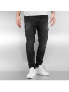 Urban Classics Tynne bukser Ripped svart