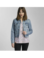 Urban Classics Übergangsjacke Ladies Denim blau
