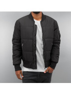 Urban Classics Übergangsjacke Basic Quilt schwarz
