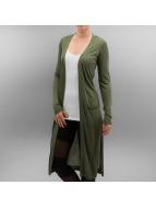 Urban Classics vest Ladies Fine Knit olijfgroen
