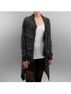 Urban Classics vest Ladies Knit Feather zwart