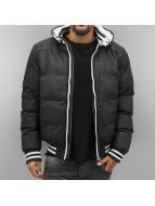 Urban Classics Veste d'hiver Hooded noir