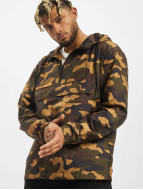 Urban Classics Veste mi-saison légère Camo Pull Over camouflage