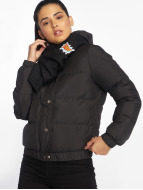 Urban Classics Winter Jacket Hooded Puffer black