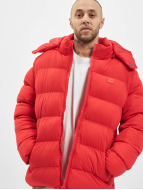Urban Classics Winter Jacket Hooded Boxy Puffer red