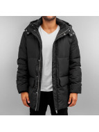 Urban Classics Winterjacke Long Bubble schwarz