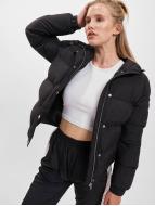 Urban Classics Winterjacke Hooded Puffer schwarz