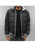 Urban Classics Winterjacke Hooded schwarz