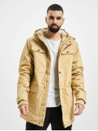 Urban Classics winterjas Heavy Cotton beige