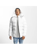 Urban Classics winterjas Hooded Puffer wit