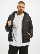 Urban Classics winterjas Basic Bubble zwart