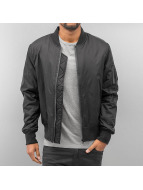 Urban Classics winterjas Tech zwart