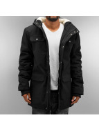 Urban Classics winterjas Heave Cotton zwart
