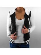 Urban Classics Zip Hoodie Ladies 2-Tone College čern