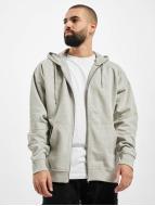 Urban Classics Zip Hoodie Oversized šedá