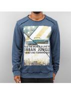 Urban Surface Pullover Urban Jungle blau