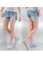 Urban Surface shorts Boyfriend blauw