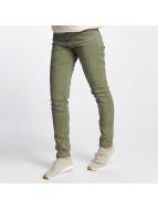 Urban Surface Slim Fit Jeans Vittoria olivová