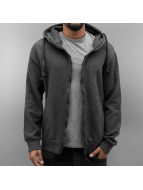 Urban Surface Sweat à capuche zippé Cameron gris