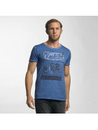 Urban Surface t-shirt South Division blauw