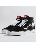 Vans Sneaker Peanuts Snoopy Bones SK8-Hi Reissue schwarz