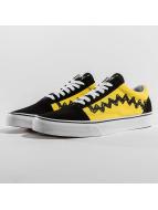 Vans sneaker Peanuts Charlie Brown Old Skool zwart