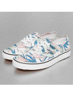 Vans Snejkry Authentic Tropical Leaves bílý