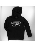 Vans Zip Hoodie Full Patched Front black