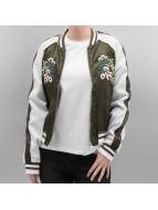 Vero Moda Куртка-бомбардир vmSatty зеленый