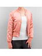 Vero Moda Куртка-бомбардир vmTaras розовый