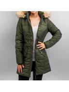 Vero Moda Пальто cmGaps Gabbie зеленый