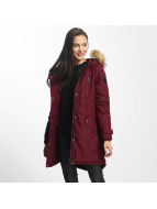 Vero Moda Пальто vmTrack Expedition 3/4 красный