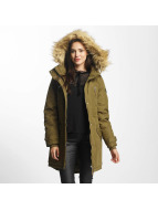 Vero Moda Пальто vmTrack Expedition 3/4 оливковый