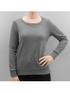Vero Moda Пуловер VMNatalie серый