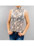 Vero Moda Bluzka/Tuniki vmJanet bialy