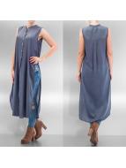 Vero Moda Bluzka/Tuniki vmMeshy niebieski