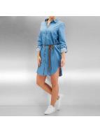 Vero Moda Bluzler/Tunikeler vmKardash Long mavi