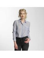 Vero Moda Hemd vmBasa Midi Woven blau